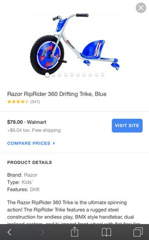 Razor 360 caster -kid bike-only have blue left for Sale in Lakewood, CO