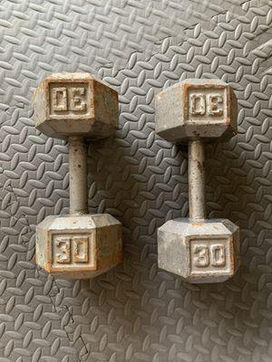 30 LB dumbbells for Sale in Peoria, AZ