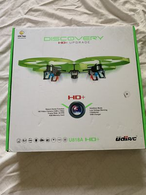 UdiR/C U818A HD+ Drone with camera for Sale in Fort Washington, MD