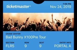 Bad bunny tickets for Sale in San Jose, CA