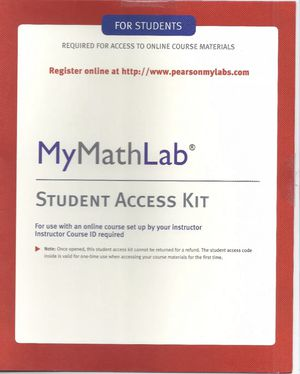 MyMathLab for students Access code for Sale in Silver Spring, MD