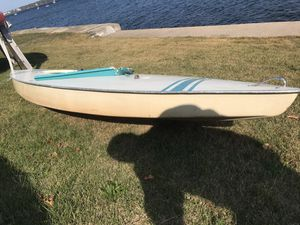 2 Sunfish Sailboats Complete for Sale in Providence, RI