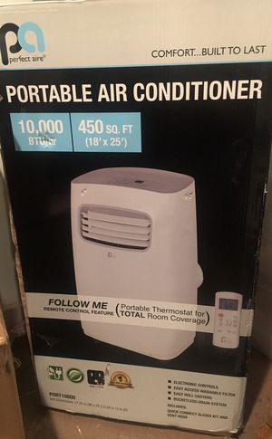 perfect Air portable air Conditioner on wheels with remote control and extras for Sale in Los Angeles, CA
