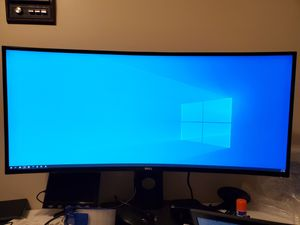 """Dell U3419W 34"""" Ultrawide Curved 3440x1440 USB-C Monitor for Sale in Ellicott City, MD"""