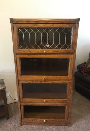 Book shelves cabinet for Sale in Georgetown, TX