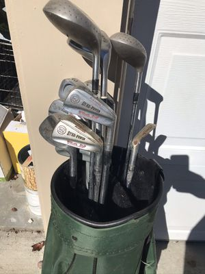 Golf club set and bag for Sale in Easton, CT
