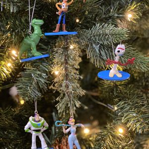 Disney Toy Story Christmas ornaments for Sale in San Antonio, TX