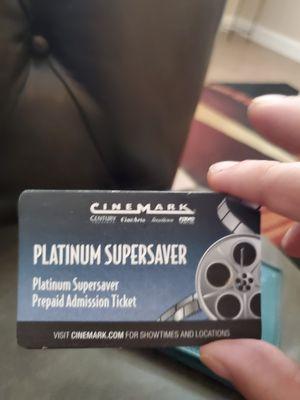 2 Cinemark Movie Tickets for Sale in Las Vegas, NV