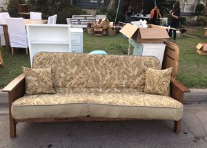 Futon frame with futon mattress for Sale in West Covina, CA