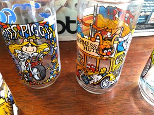 Set of 12 the great Muppet caper collectible glasses Henson associates and Company 1981 for Sale in Scottsdale, AZ