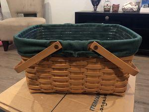 Longaberger Large Market Basket for Sale in Chandler, AZ