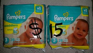Pampers Size 3 Diapers Bundle for Sale in Mesa, AZ