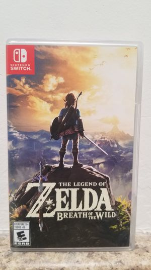 Zelda breath of the wild for Sale in Tucson, AZ