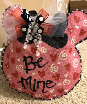 Holiday decor valentines door hanger for Sale in Lawrenceville, GA
