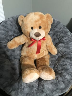 Large teddy bear for Sale in Port Orchard, WA