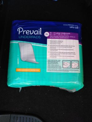 Prevail Underpads super absorbent XL 10 pack for Sale in Fresno, CA