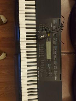 Casio WK-245 76 Key Keyboard (With Stand) for Sale in Pico Rivera,  CA
