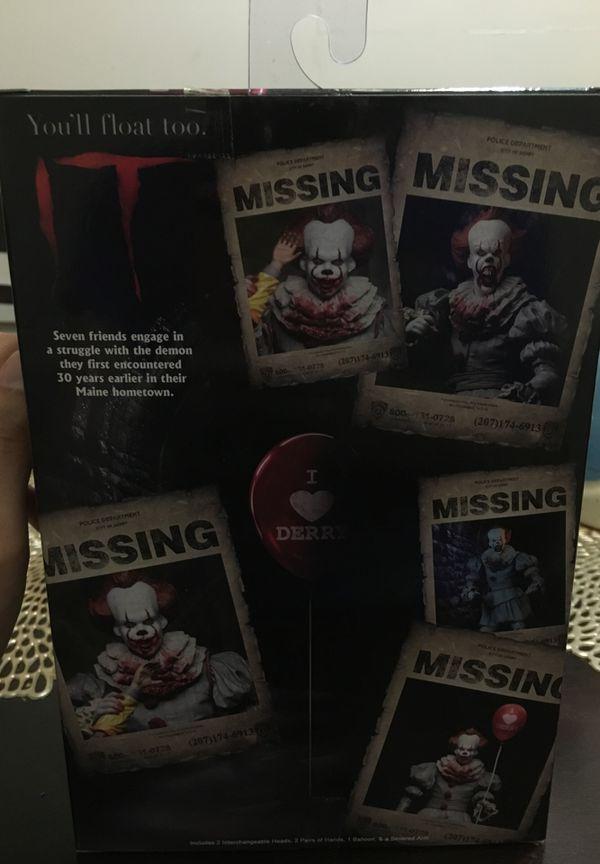 Pennywise neca GameStop exclusive figure