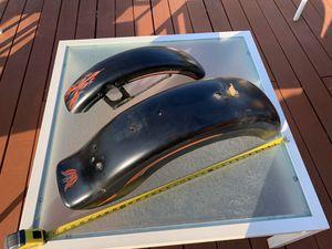 Harley Davidson ducktail rear fender and front fender set for Sale in Los Angeles, CA