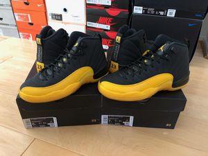 Nike Jordan Retro 12 University Gold GS & Adult Sizes for Sale in Moreno Valley, CA