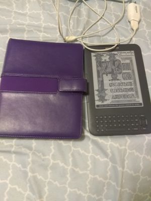Kindle and case for Sale in Indianapolis, IN