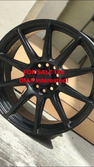 Black wheels/rims for Sale in Cutler Bay, FL