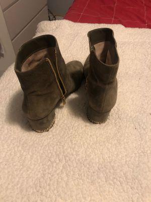 Michael Kors- Olive Green boots - Size 7 for Sale in Denver, CO