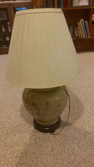 Antique Gold Butterfly Lamp for Sale in Falls Church, VA