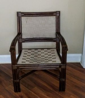 Dark Bamboo style chair for Sale in Naples, FL