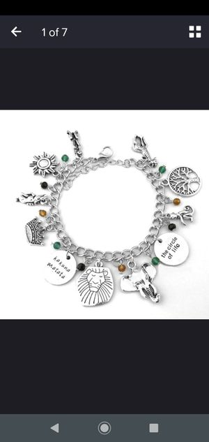 Lion King charm bracelet for Sale in WILOUGHBY HLS, OH