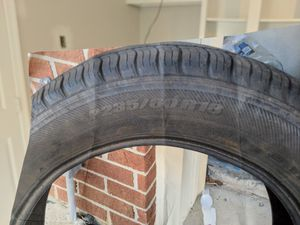 Set of 4 tires P235/60/R18 Michelin for Sale in Sterling, VA