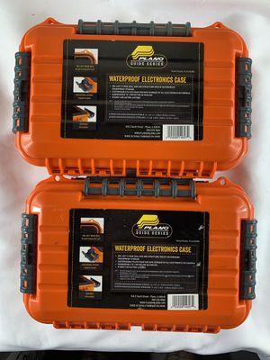 2 Plano Guide Series Waterproof Utility Case - Orange for Sale in Los Angeles, CA