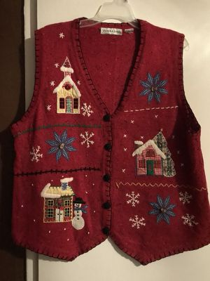 Ugly sweater vest for WOMEN for Sale, used for sale  Norwalk, CA