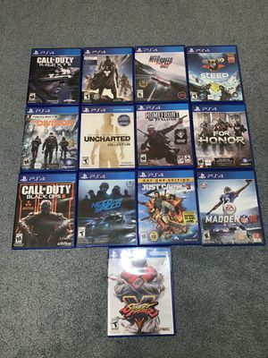 Ps4 games for Sale in Lake Wales, FL