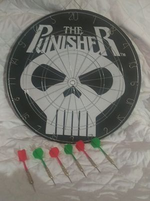 The Punisher Dart Board for Sale in Arlington, TX