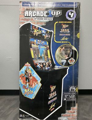 Brand NEW Arcade1up Final Fight 1944 arcade video games for Sale in Vancouver, WA