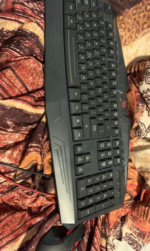 Keyboard+mouse used by ninja for Sale in Gardena, CA