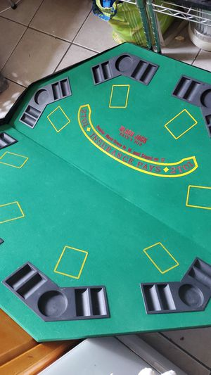 Poker tabletop (portable) for Sale in New York, NY