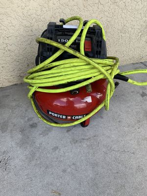 Porter cable pancake compressor for Sale in Tampa, FL