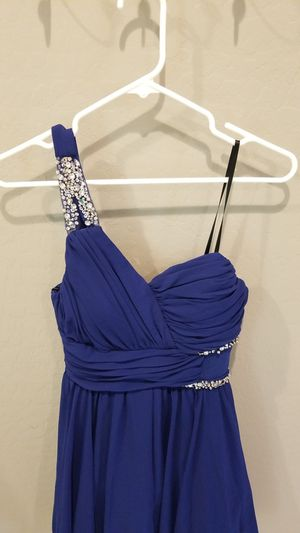 Purple Beaded One Strap Dress for Sale in Florence, AZ
