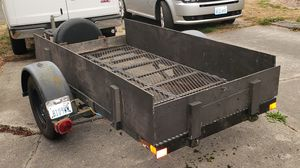 4x8 heavy duty utility trailer. Custom made for Sale in Tacoma, WA