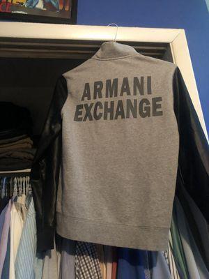 Armani 1/2 zip sweater jacket 🧥 men's size small for Sale in Willingboro, NJ