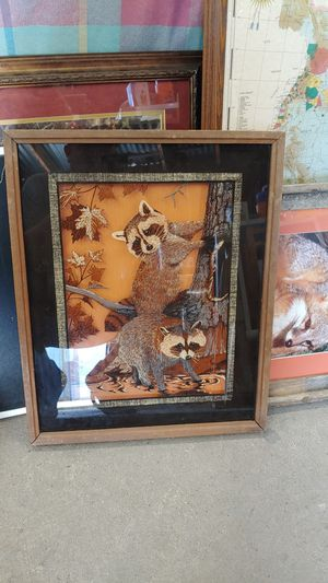 3D raccoon picture for Sale in Houston, TX