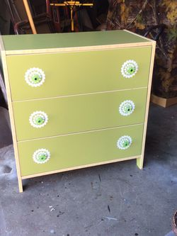 IKEA Lime Green Dresser for Sale in Auburn,  WA