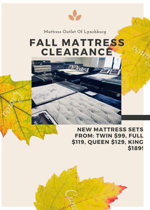 New Mattress Sets From $99 & Up! for Sale in Lynchburg, VA