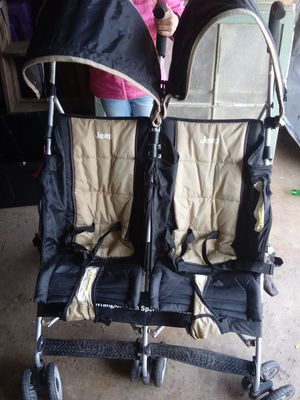Jeep scout double stroller for Sale in Spring Lake Park, MN