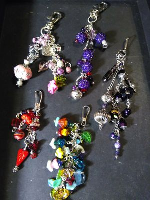 Beautiful, Fashionable Purse Charms/ Dangles for Sale in Long Beach, CA