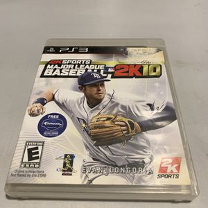 Major League Baseball 2K10 For PlayStation 3 PS3 Complete CIB Video Game for Sale in Camp Hill, PA