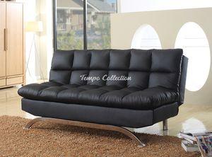 Leatherette Futon, Black, SKU# MLT8035BKTC for Sale in Norwalk, CA