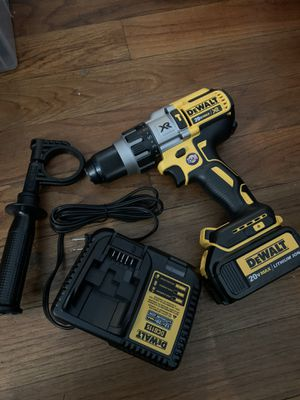 Dewalt hammer drill,battery and charger for Sale in Richmond, CA